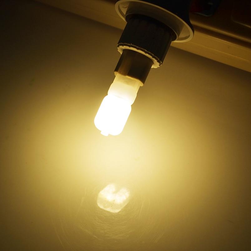 2pcs/lot G4 G9 LED Lamp Mini LED Bulb AC 220V DC 12V SMD2835 Spotlight Chandelier High Quality Lighting Replace Halogen Lamps 6