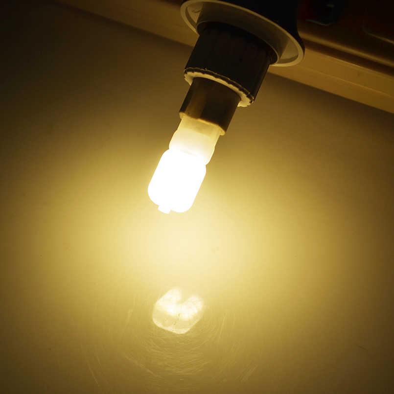 2 adet/grup G4 G9 LED lamba Mini LED ampul AC 220V DC 12V SMD2835 spot avize yüksek kaliteli aydınlatma halojen lambaları değiştirin