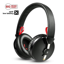 лучшая цена OneAudio Over Ear Bluetooth Headphones APTX Low Latency 40mm Driver Headset With Mic Super Bass 20 Hours Playtime For Xiaomi etc