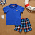 SS2-017, Original,  New Collection, Toddler Boys 2-Piece Set, With Short-sleeve T + Shorts, Free Shipping
