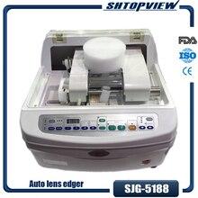 SJG-5188 автоматический станок для шлифования линз резак для полировки стекла скошитель для ПК CR GC glass es