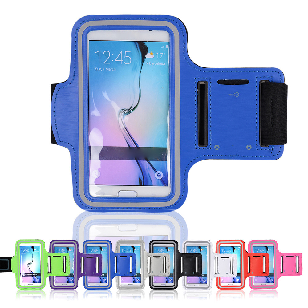 pretty nice 29087 774f6 US $4.99 |Sport Gym Bag Running Arm Band Case for Samsung Galaxy s7 S6 S6  Edge Belt Travel Accessory s7 S6 S5 S4 Phone Case Cover-in Phone Pouch from  ...