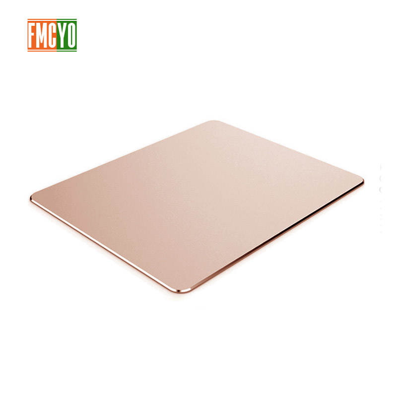 Image 3 - Aluminum mouse pad Apple notebook mouse pad office game home metal mouse pad small oversized-in Mouse Pads from Computer & Office