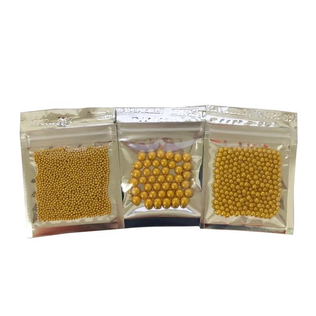 10g Piccolo oro perline Commestibile perla ZUCCHERO PALLA fondente FAI DA TE di
