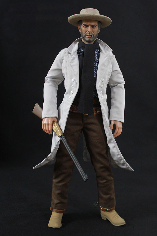 On Sale 1/6 Scale Cowboy The Good Action Figure Collectible Blondie Clint Eastwood Figure Model Collections cowboy junkies cowboy junkies the trinity session