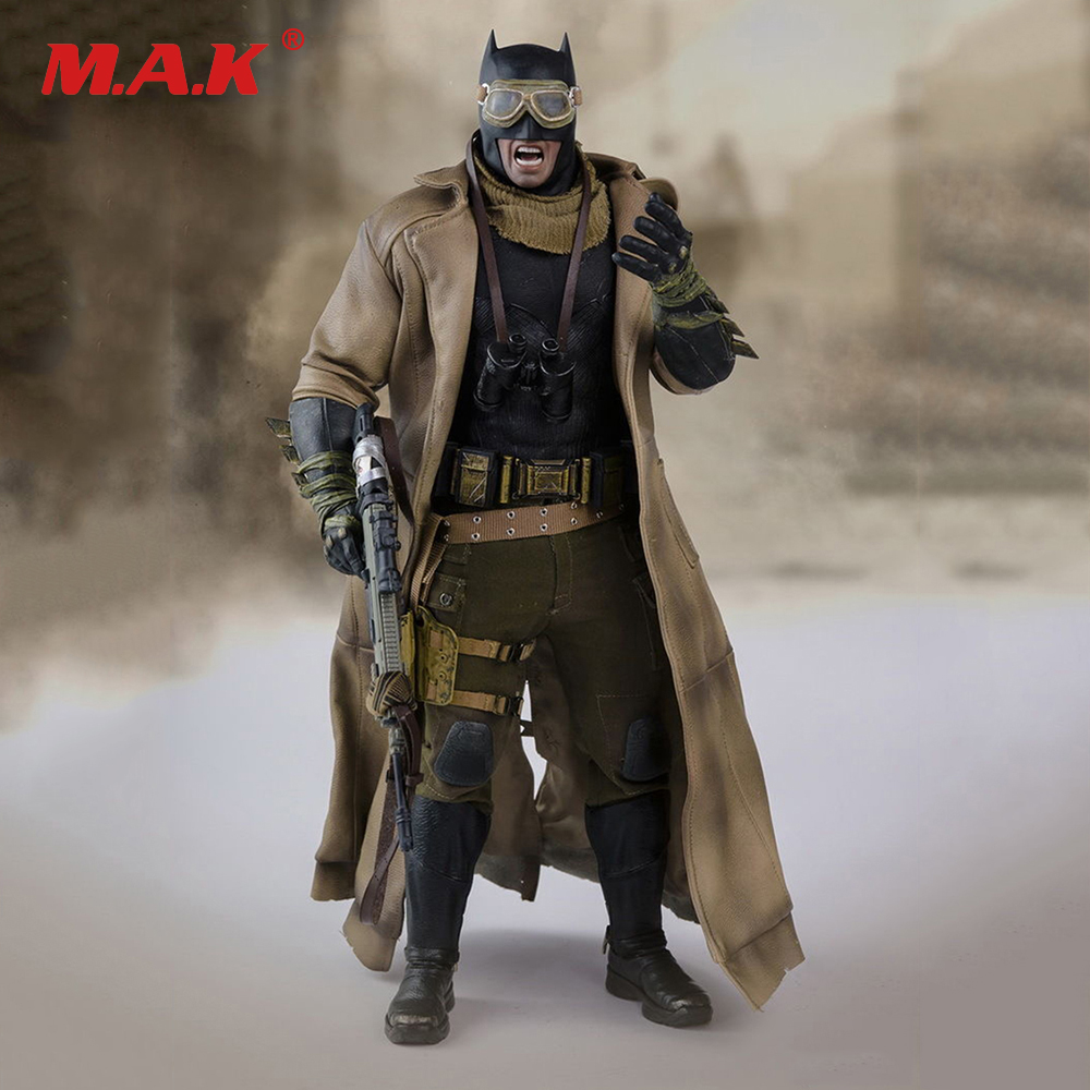 1:6 Soldier Clothes Set 1/6 BVS Batman Desert Combat Set Fight Clothing Suits For 12 Inches HT Figures hot figures doll accessories pirp toys 1 6 batman police commissioner gordon inspector dresscode clothes set for 12 figure body