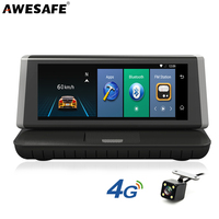 AWESAFE 4G Android 5 1 Car DVR Camera ADAS Dash Cam FHD 1080P Video Recorder WIFI