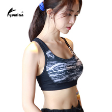 Sexy padded compression Sports Bra Women Fitness Yoga Bras Gym Padded Sport Top Athletic Underwear Workout Running Clothing