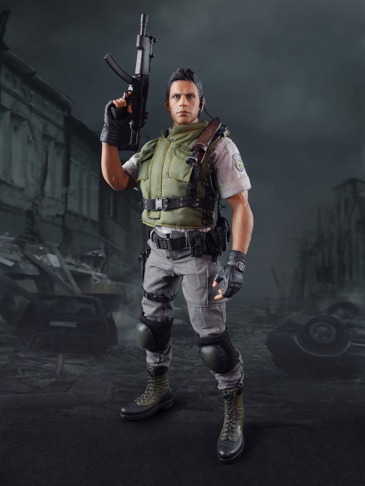 1/6 Scale Resident Evil Chris Redfield Full Set Action Figure With Box for Collections Gifts Toys 1 6 scale resident evil 6 leon scott kennedy full set action figure for collections