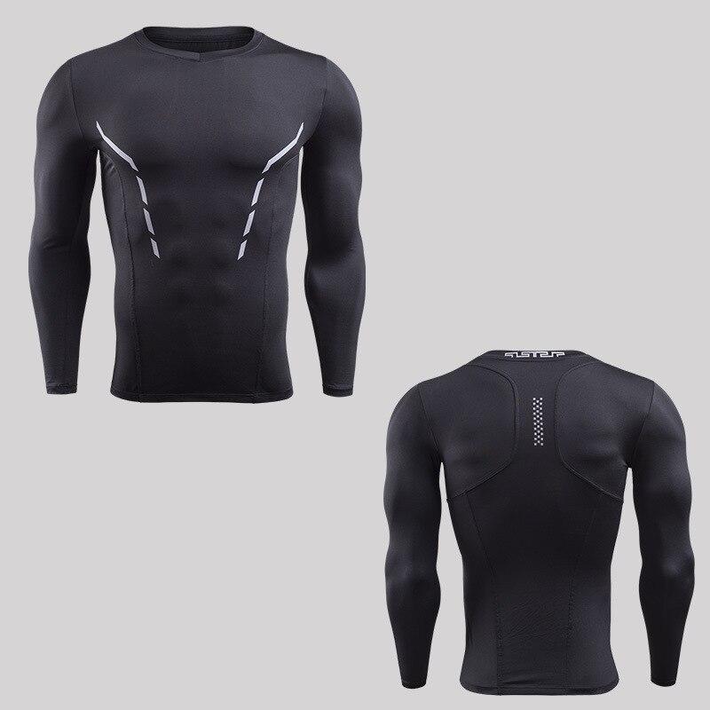 S 3XL 2018 Mens Camisa De Compressão