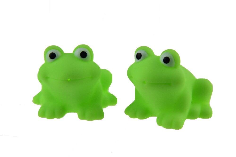 6pcs/lot children bath Toys Soft vinyl rubber toys for babies Mesh ...