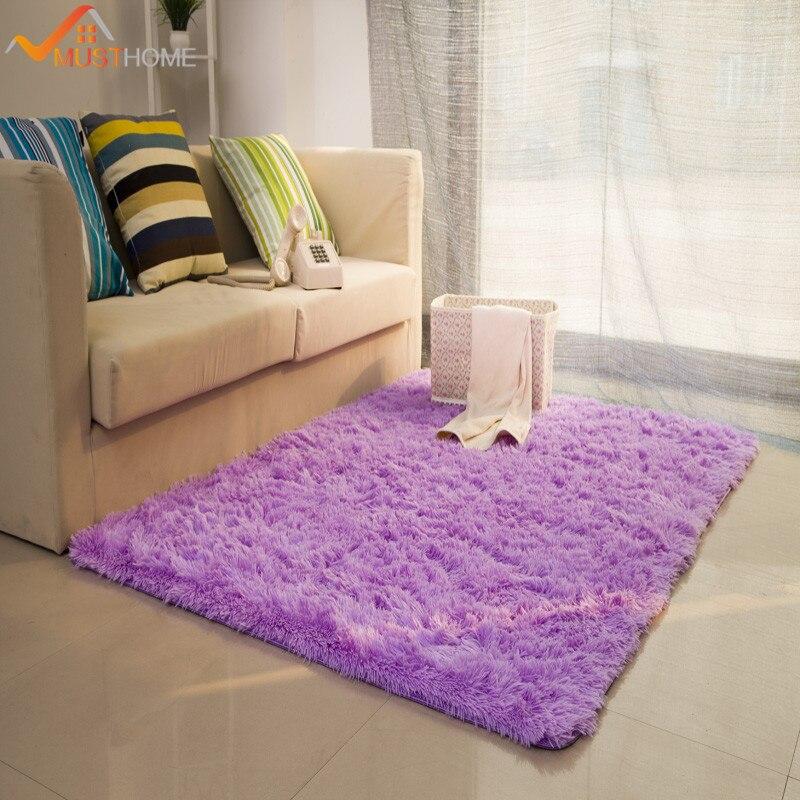 100*160 cm/39.37 * 62.99in tapis shaggy et tapis pour la maison salon lavage mécanique grands tapis de salon