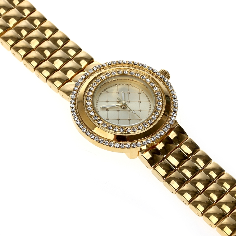 Image 4 - Dreamcarnival 1989 Recommend Elegant Ladies Watches 3 Colors Quartz Watch Women Slim Clock Party Fashion Brand Crystals A8370-in Women's Watches from Watches