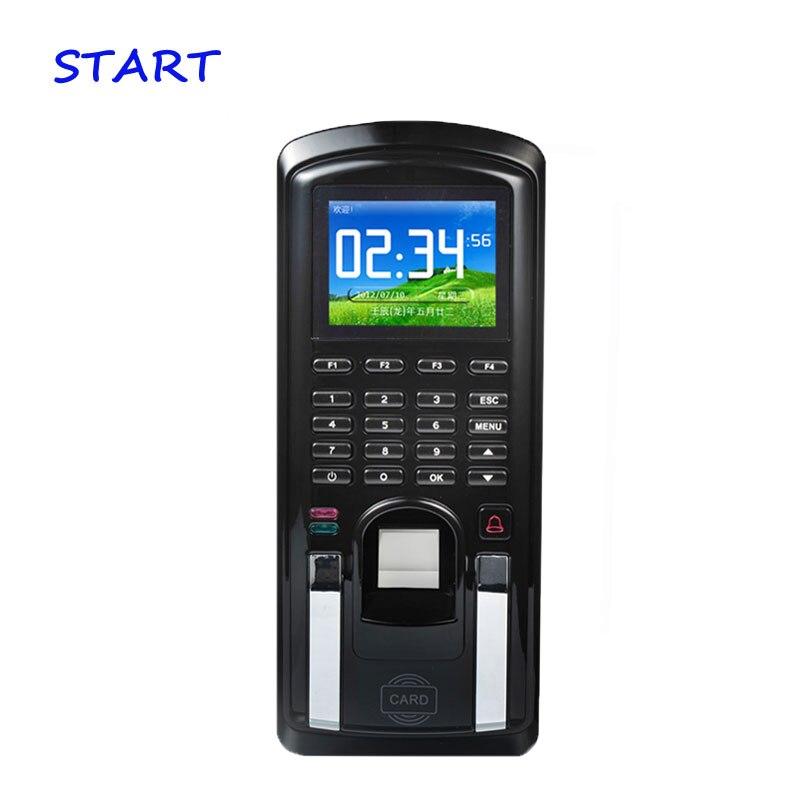 Lecteur de carte d'empreinte digitale 125 KHz RFID de système de contrôle d'accès de porte de MF151 avec la présence de temps de clavier de mot de passe