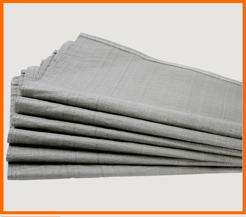 HARDIRON 10PCS Wholesale Gray Woven Bag Moving Logistics Packing Bag Construction Garbage Snake Leather Sack in Storage Bags from Home Garden