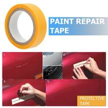 Paint Spray Masking Rubber Tape Paint Care Tools Car Paint Scratch Remover Repair Painting Car Care Practical Tools(China)