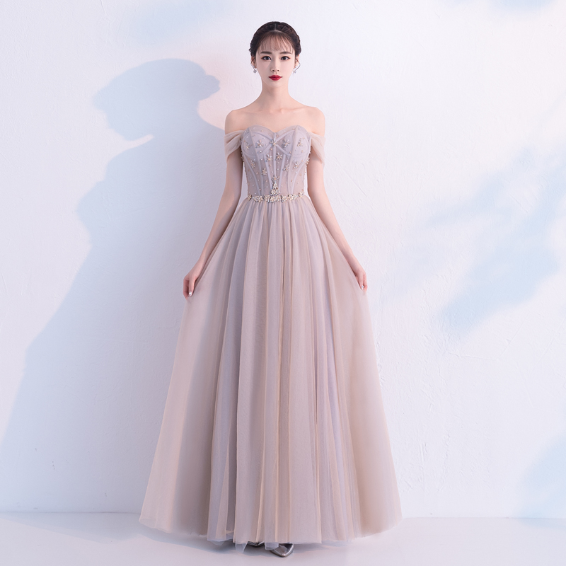 Купить с кэшбэком 2018 New Evening Dress Sexy Sweetheart Backless Beading Tulle Long Prom Gown Custom Party Formal Dresses