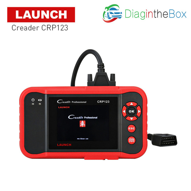 New Price LAUNCH X431 diagnostic scanner obd2 scanner monitor data clear DTC crp 123 engine auto scaner for AT,ABS,ENG,SRS