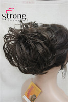 StrongBeauty Synthetic Ballet Hair Bun Extension Donut Chignon Hairpiece For Ponytail