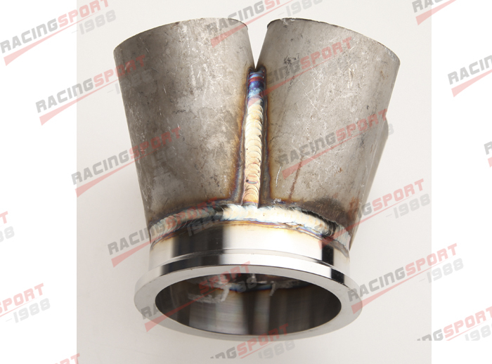 ФОТО 4-1 4 Cylinder Manifold Header Merge Collector Stainless Steel 3