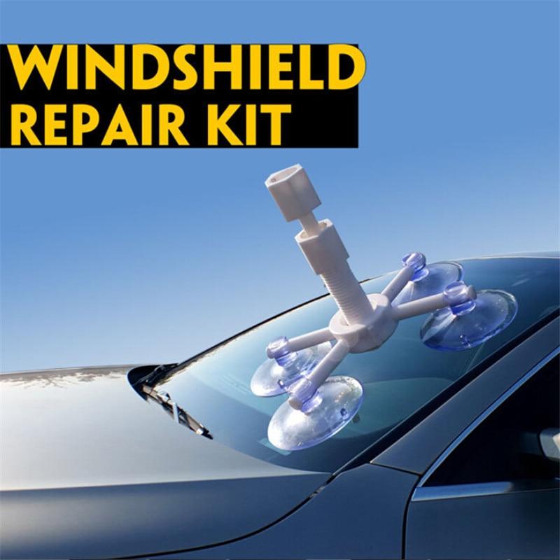 Professional Diy Auto Glass Windscreen Repair Tools Set Car