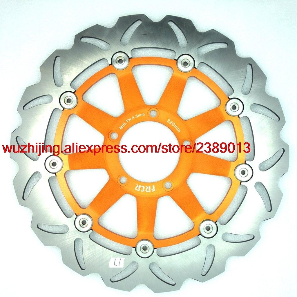 Дисковые тормоза ротор подходит для Suzuki GSX750R GSX-R750 GSXR750 GSXR GSX-R GSX R 750 1996-2003/GSX R Y 750 2000-2003