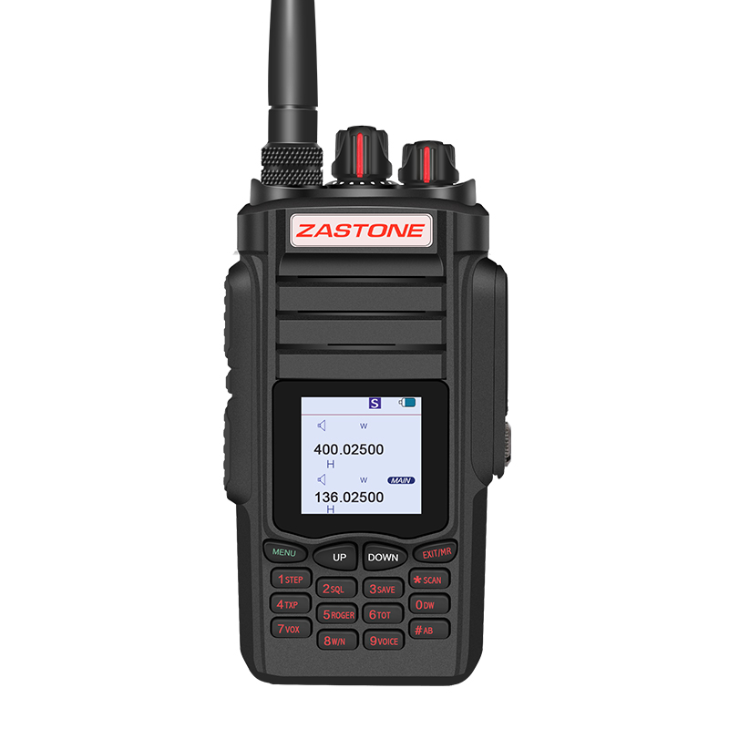 bilder für Zastone A19 Walkie Talkie 10 Watt Dual Band UHF 400-480 MHz/VHF 136-174 MHz 2800 mAh Dual-ptt Funkgeräte Communicator Transceiver