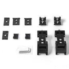 цена на RR Buckle Cover Side Lock Hood Unlimited Accessories Hood Latch Locking Catch Buckle Car Modification Parts Buckle Lock