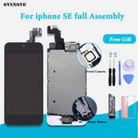 Pantalla LCD de buena calidad para iPhone SE A1723 A1662 A1724 pantalla Completa digitalizador táctil reemplazo de pantalla