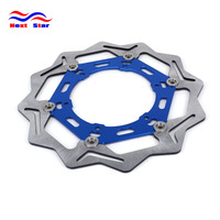 270 Front Floating Brake Disc Rotor For YAMAHA WRF426 YZF426 Model Year 2002 WR250 YZ250 YZF250 WRF250 Motorcycle Dirt Bike
