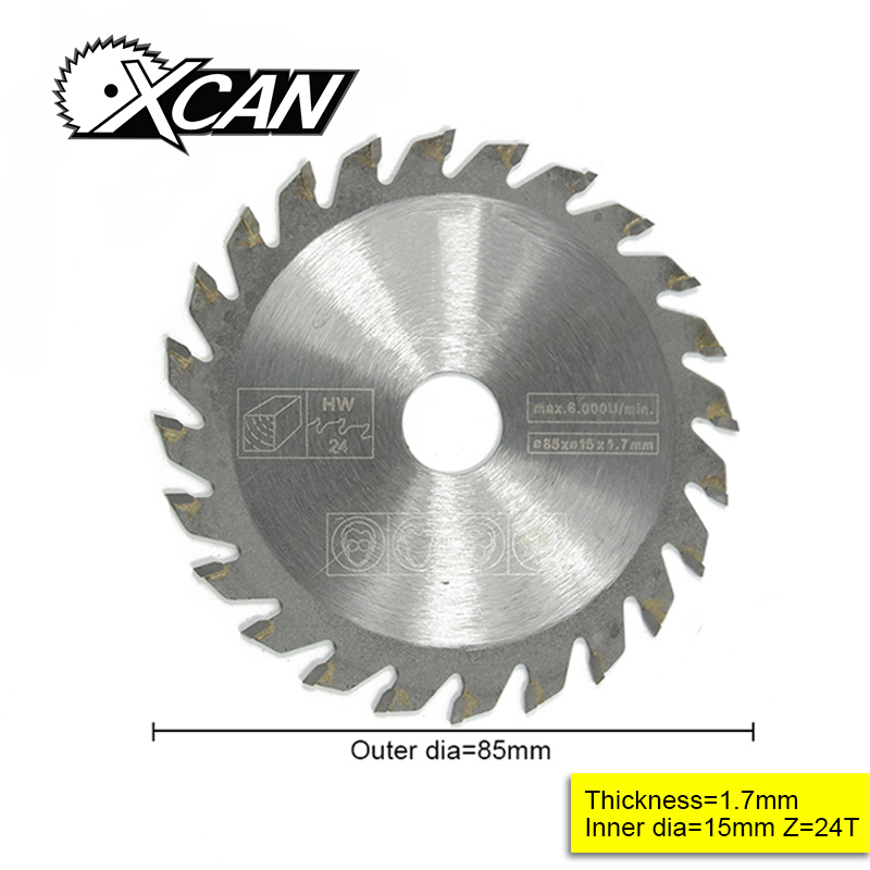 1pcs Out diameter 85 mm 24 T High Quality Mini circular saw blade wood cutting blade ушм болгарка кратон amg 2100