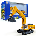 KAIDIWEI 1:87 Scale Engineering Vehicle Diecast Crawler Hydraulic Excavator  Car Alloy Model Kids Toy