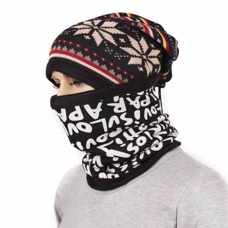 Headband Men Sport Baff Cycling Face Mask Sport  Buffe Headscarf Sand Cover bandanas Winter Thick Warm Collars outdoor Ski Heads