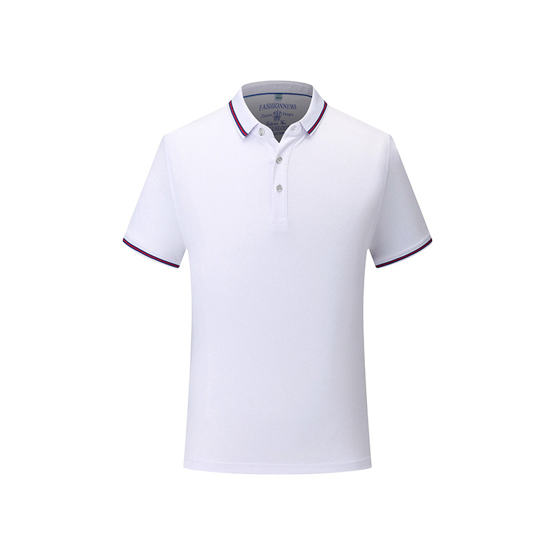 Activewear Mens Casual Solid Polo Shirt