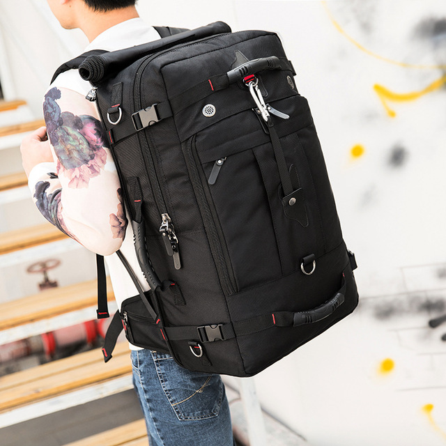 MAGIC UNION 20 inch Men Backpack Travel Bag Large Capacity Versatile Utility Mountaineering Multifunctional Waterproof Backpacks 5