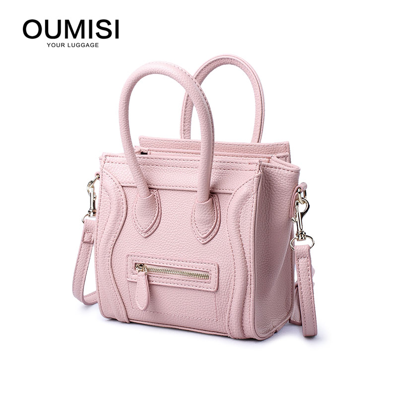 OUMISI   OUMISI Fashion Brand PU Leather Famous Brand Women Bag Small Crossbody bag CSMINI-in Top-Handle Bags from Luggage & Bags on AliExpress - 11.11_Double 11_Singles' Day 1