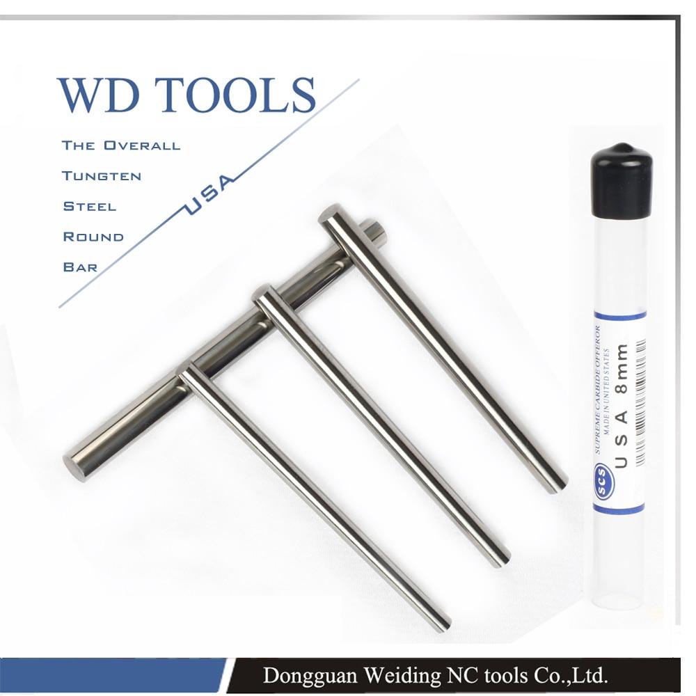 Tungsten W Metal Rod High Hardness High Tensile Strength High Elongation High Wear Resistance high
