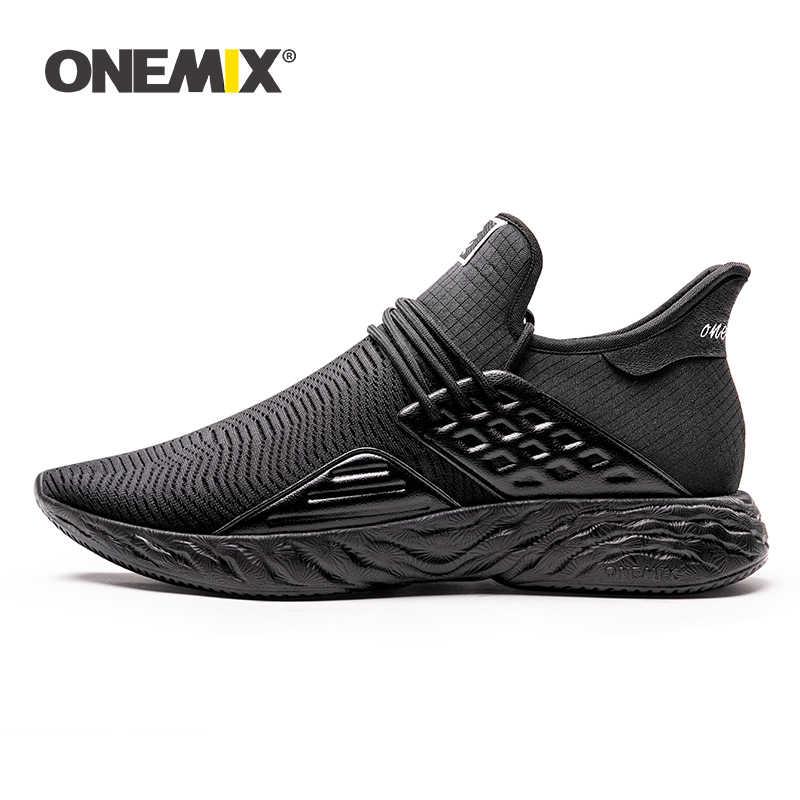 ONEMIX2019 kadın koşu ayakkabıları nefes spor ayakkabı hafif kaymaz yeni vulkanize ayakkabı kadınlar casual yavaş adım ayakkabı