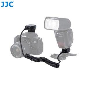 Image 5 - JJC 1,3 M TTL Off DSLR шнур для вспышки камеры Горячий башмак Синхронизация удаленный кабель фокусировки света кабель для Canon 600EX II RT/600EX RT/430EX