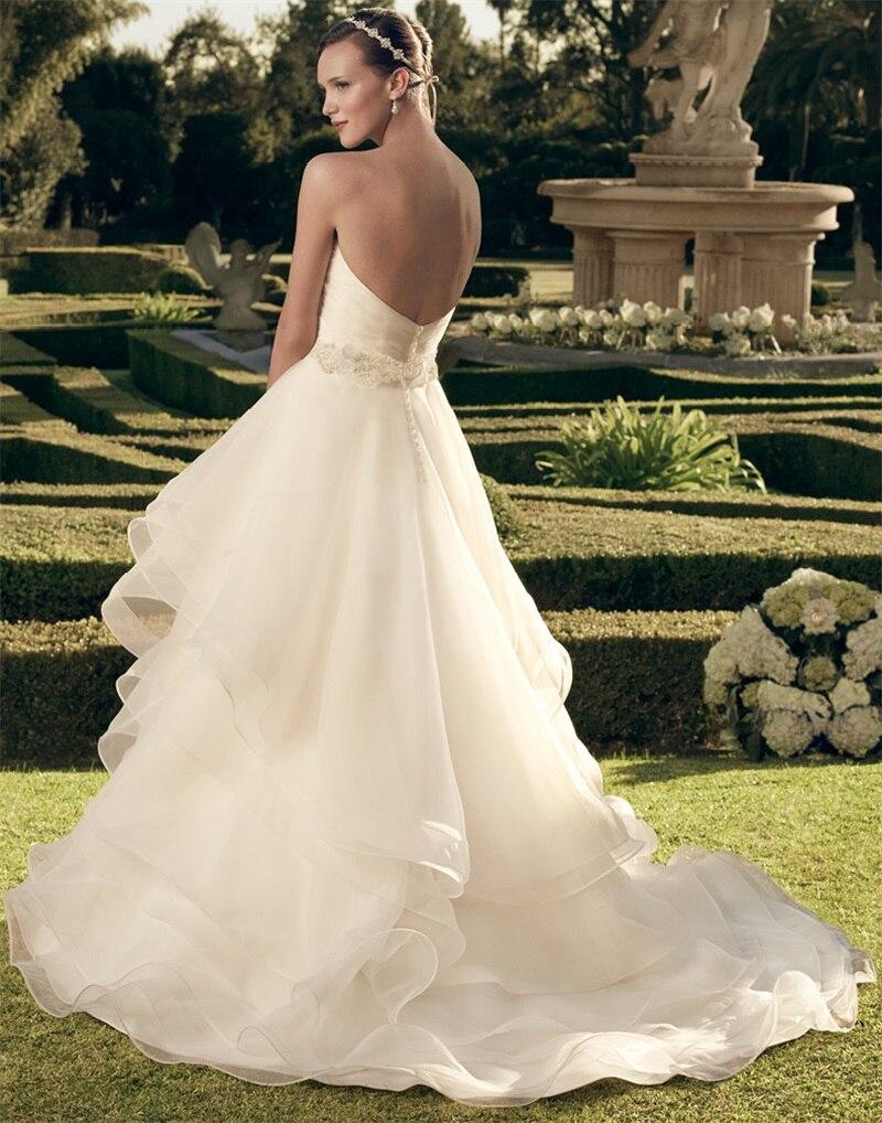 Flowy Layered Hochzeitskleider Ballkleid Flores Para Noivas Schatz ...