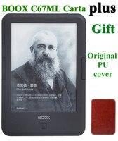 Новый ONYX BOOX C67ml carta + для чтения электронных книг 6 8 г wifi eink сенсорный экран 3000 мАч карман книги подарок Обложка