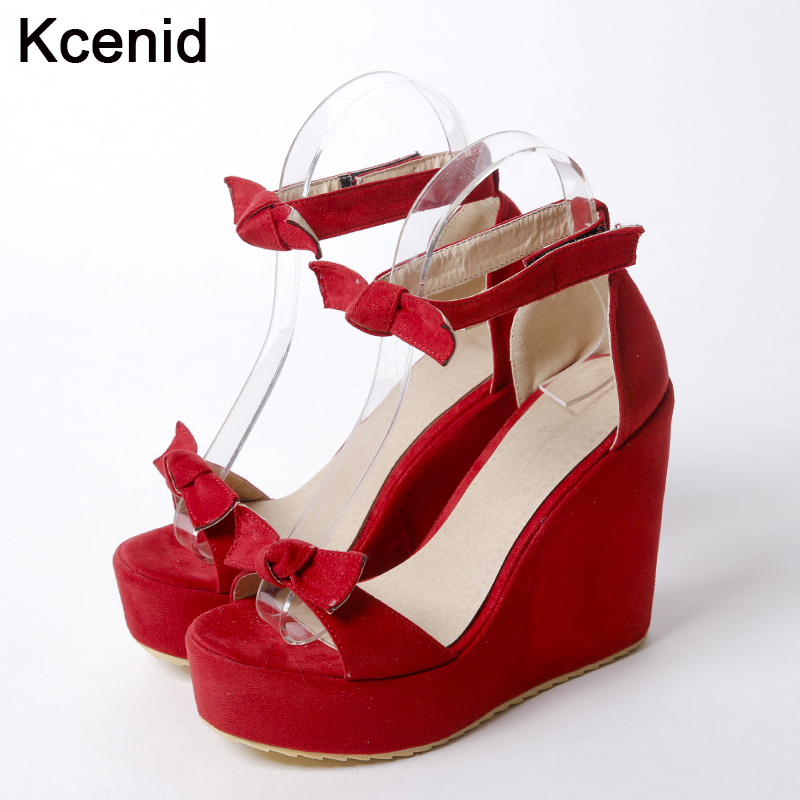 Popular Red Wedge Heels-Buy Cheap Red Wedge Heels lots from China ...