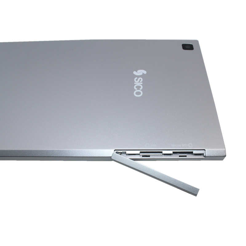 8 pouces LED tablette PC intégré 3G Baytrial-T Z3735F Windows 8.1 Quad Core 1 + 16GB argent 1280x800 IPS