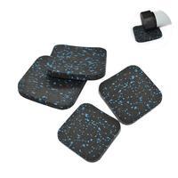 4 шт. беговая дорожка коврик звук подкладка утолщенной дома фитнес оборудования