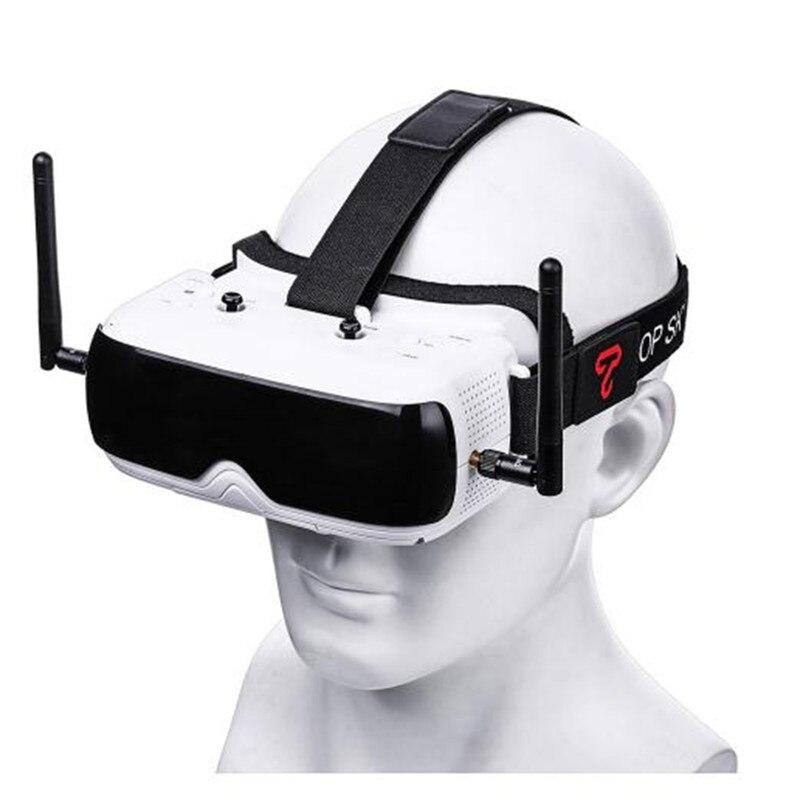 TOPSKY Prime 1 S FPV lunettes 5.8G 86 degrés FOV 640x480 LCD 4:3 2.4 pouces NTSC/PAL lunettes pour Drone RC