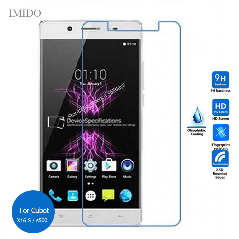 For Cubot X16 X17 Tempered Glass Screen Protector 2.5 9h Safety Protective Film on Cubet X 16 17 pelicula de vidro