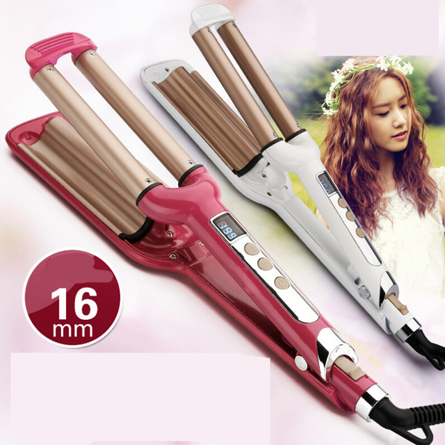 New Styling Tools For Hair Beauteous Brand New Styling Tools 3 Barrels Hair Rotating Curler Triple .