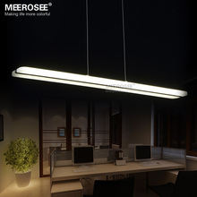 Modern LED Chandelier Lighting Fitting Acrylic Lamp Lustres For Dining Restaurant lamparas Home Decoration