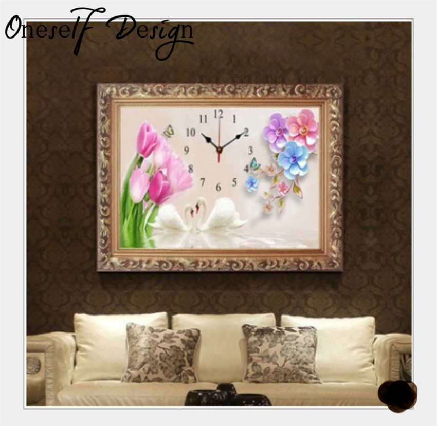 Arts,crafts & Sewing Home & Garden Nice 5d Diamond Embroidery Tulip Flowers Diamond Painting Landscape Cross Stitch Full Crystal Wall Painting Christmas Gift