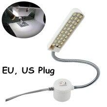 Máquina de Coser de Trabajo de cuello de cisne Luz 30 LED Lámpara de Trabajo Con Base Magnética De Montaje para Todos Máquina de Coser de Iluminación